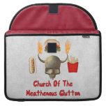 Iglesia del Glutton de Heathenous Funda Para Macbook Pro