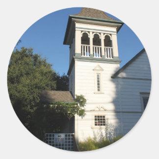 Iglesia del Nazarene Pegatina Redonda