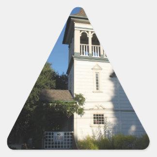 Iglesia del Nazarene Pegatina Triangular