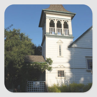 Iglesia del Nazarene Pegatina Cuadrada