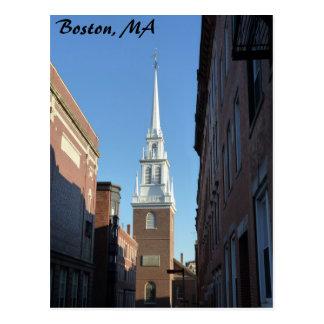 Iglesia del norte vieja tarjetas postales