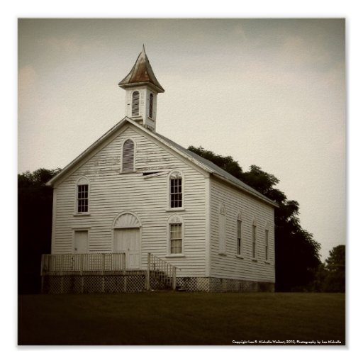 Iglesia del país impresiones