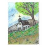 Iglesia del país postal