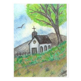 Iglesia del país postales