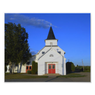 Iglesia del país viejo fotografías