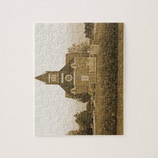 Iglesia del país viejo puzzles con fotos