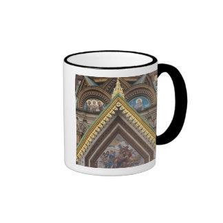 Iglesia del salvador de la sangre derramada tazas de café