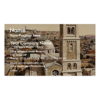 Iglesia del salvador del St., Jerusalén, Tierra Sa Tarjetas Personales