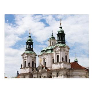 Iglesia del santo Nicholas Tarjeta Postal