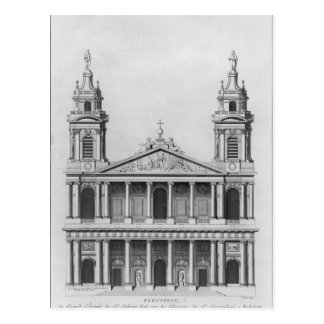 Iglesia del Santo-Sulpice Tarjeta Postal