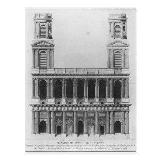 Iglesia del Santo-Sulpice Tarjetas Postales