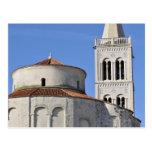 Iglesia del siglo IX del pre-Romanesque Postal