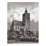 Iglesia del siglo XIX de Brielle Tarjetas Postales