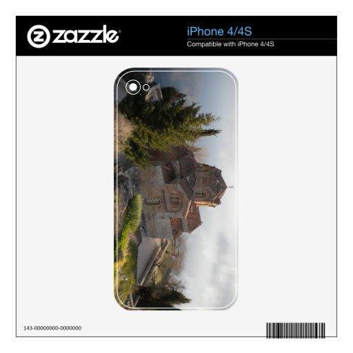 Iglesia del St. Jovan en el lago Ohrid, Macedonia Calcomanías Para El iPhone 4