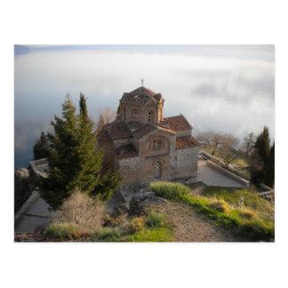 Iglesia del St. Jovan, Macedonia Tarjetas Postales