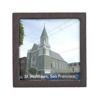 Iglesia del St. Matthews Caja De Regalo De Calidad