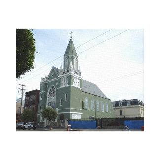 Iglesia del St. Matthews Lona Estirada Galerias