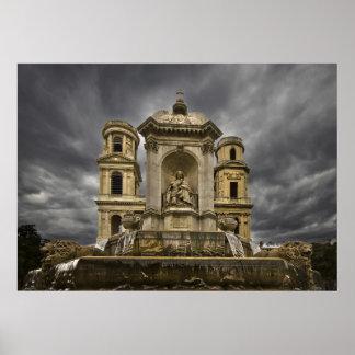Iglesia del St Sulpice (ii) Póster