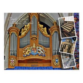 Iglesia del templo, Londres Tarjetas Postales