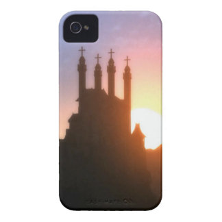 IGLESIA DEL VINTAGE Case-Mate iPhone 4 FUNDAS
