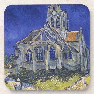 Iglesia en Auvers-sur-Oise de Vincent van Gogh Posavasos