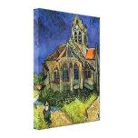 Iglesia en Auvers, Van Gogh, impresionismo del Impresiones En Lona Estiradas