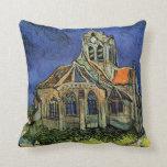 Iglesia en Auvers, Van Gogh, impresionismo del vin Cojines