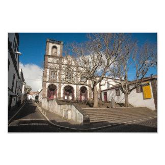 Iglesia en Azores Fotografía