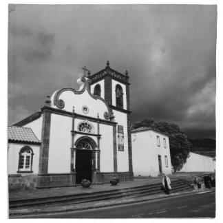 Iglesia en Azores Servilleta