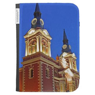 Iglesia en el crepúsculo, Santiago de Merced