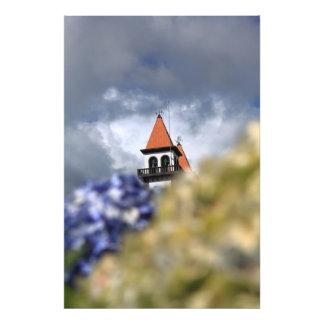 Iglesia en Furnas - Azores Foto