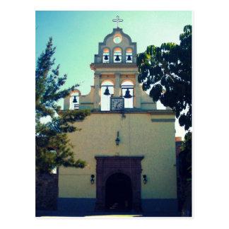 Iglesia en la postal de SAN ANTONIO TLAYACAPAN Méx