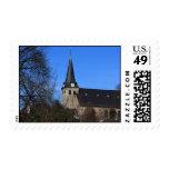 iglesia en la primavera temprana 2 sello