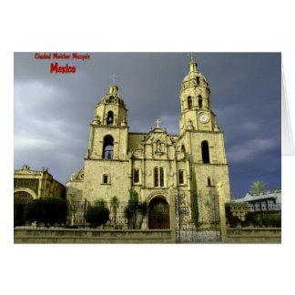 Iglesia en Muzquiz México Tarjeta
