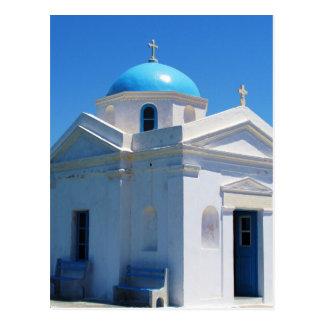 Iglesia en Mykonos Postales