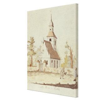 Iglesia en Pankow, Berlín Impresión En Lienzo