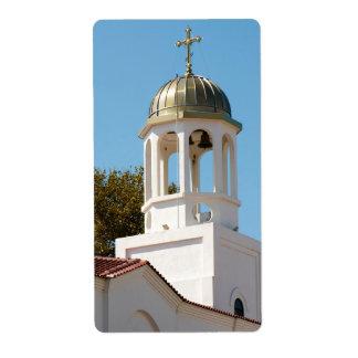 Iglesia Etiqueta De Envío