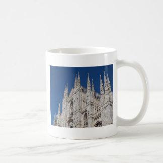 Iglesia gótica de la catedral de Milano de los di  Taza De Café