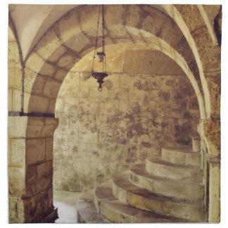 Iglesia gótica servilletas