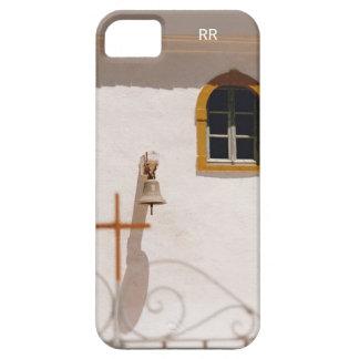 Iglesia griega con la cruz y Bell Paxos iPhone 5 Case-Mate Cárcasa