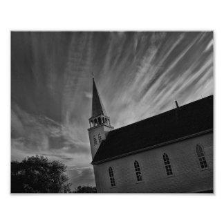 Iglesia hablada enigmáticamente bala - Batoche SK Cojinete