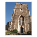 Iglesia histórica en Hastings Inglaterra Plantilla De Membrete