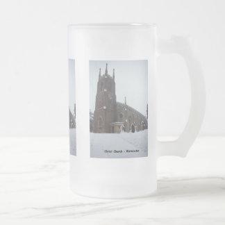 Iglesia IV Nevado Cristo Jarra De Cerveza Esmerilada