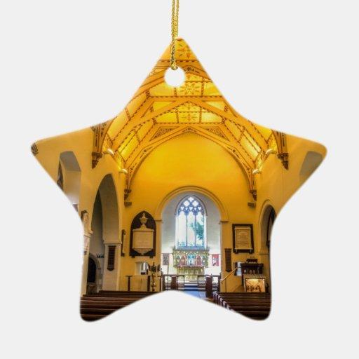Iglesia Kintbury del St Marys Ornamento De Navidad