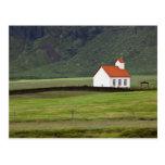Iglesia luterana, Islandia Postales