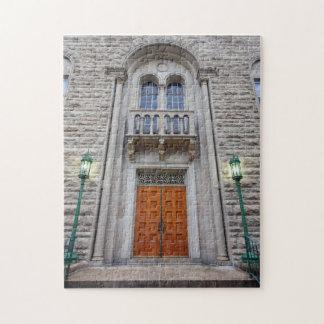 Iglesia metodista unida de Wesley de las puertas Puzzles Con Fotos