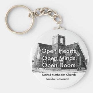 Iglesia metodista unida llaveros