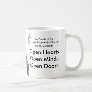 Iglesia metodista unida taza de café