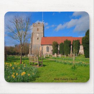 Iglesia Mousemat de Cookham Alfombrillas De Raton