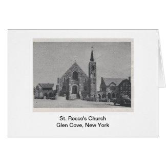 Iglesia Notecard del St. Rocco Tarjeta De Felicitación
